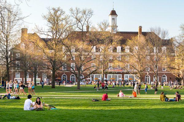 University of Illinois college campus in Urbana Champaign Leigh Trail / Shutterstock.com