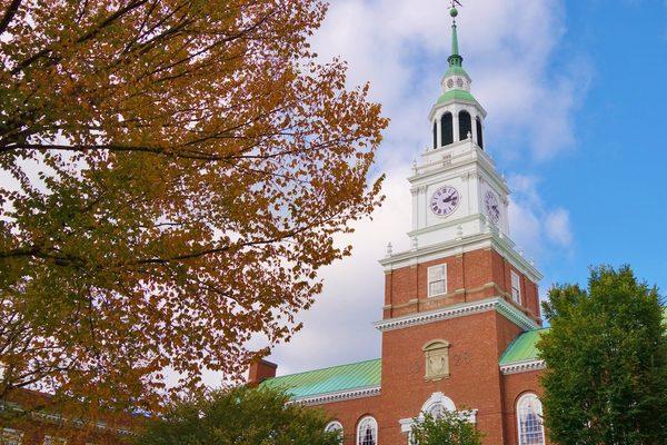 Dartmouth College clocktower
