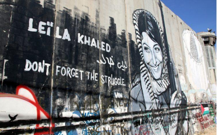 Leila Khaled mural Bas van den Heuvel / Shutterstock.com