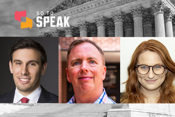 So to Speak podcast: A frustrated cheerleader's Snapchat video lands at the Supreme Court. The outcome will determine the future of student free speech rights.