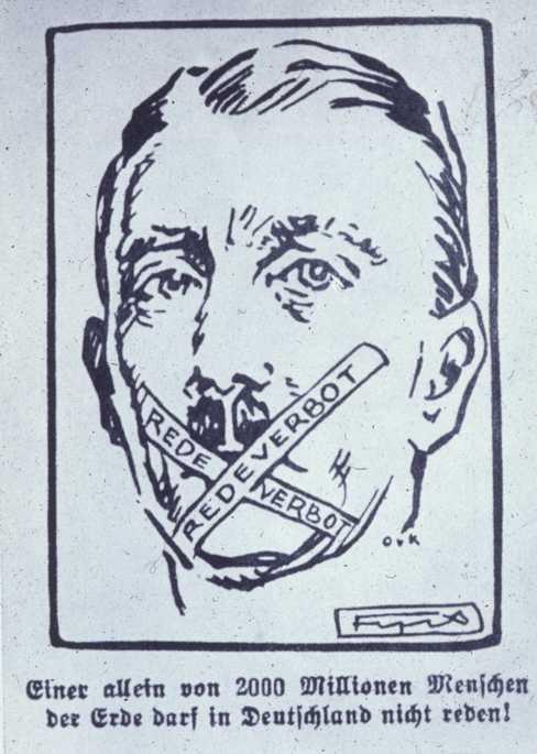 Hitler poster Nazi propaganda