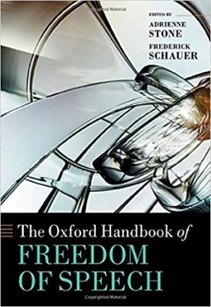 The Oxford Handbook of Freedom of Speech cover