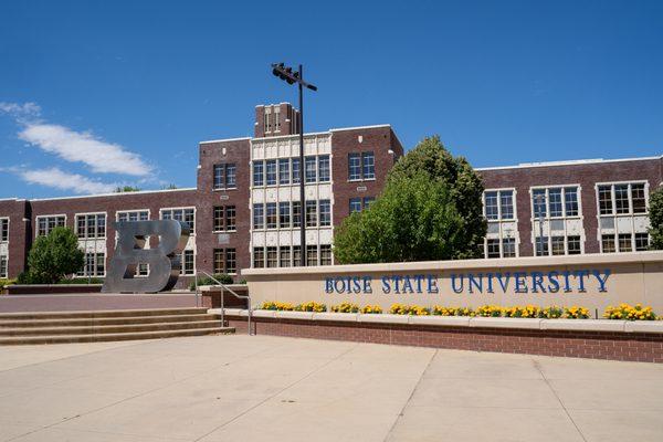 Boise State University in Idaho.