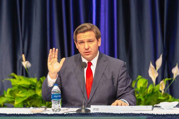 Florida Governor Ron DeSantis YES Market Media / Shutterstock.com