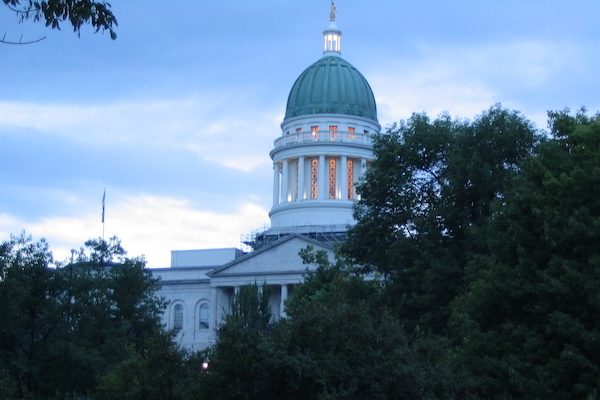 Maine State House in Augusta