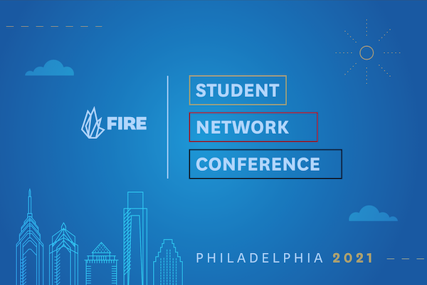 Annual FIRE Student Network Summer Conference to take place July 16–18 in Philadelphia.