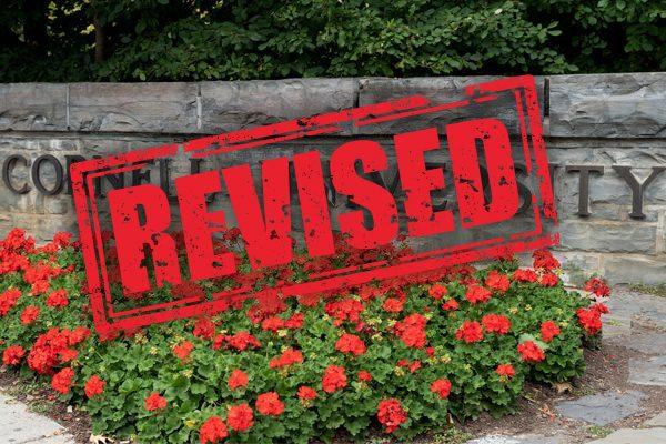 Cornell University SCOTM REVISED