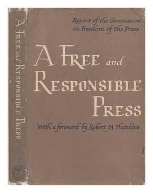 A Free and Responsible Press cover