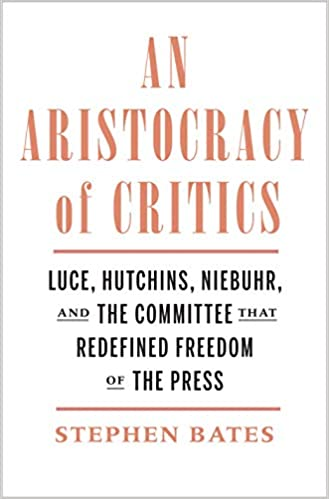 An Aristocracy of Critics cover