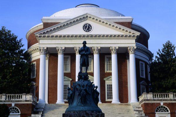 University of Virginia campus.