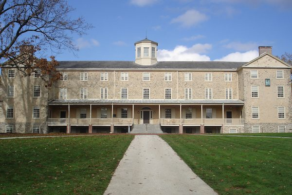 Founders Hall. Haverford College.