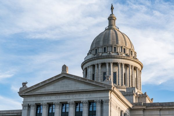 Oklahoma Capitol Building in Oklahoma City