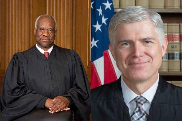 Thomas and Gorsuch (U.S. Supreme Court)