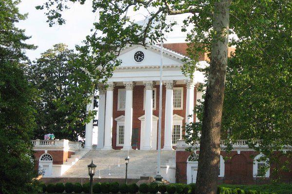 The University of Virginia rotunda.