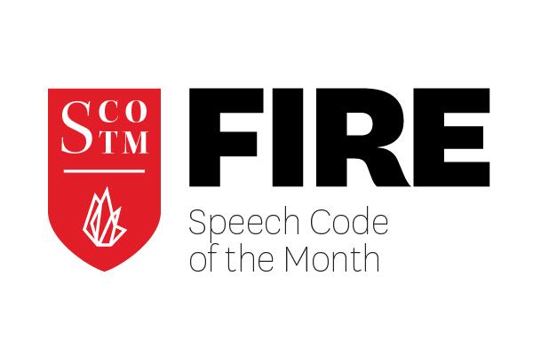 September 2021 Speech Code of the Month: Sacramento State University