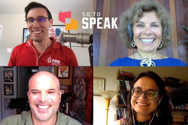 So to Speak podcast: Matt Taibbi, Nadine Strossen, and Amna Khalid respond to 'On the Media' free speech critiques
