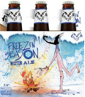 Frozen Season beer label, Flying Dog
