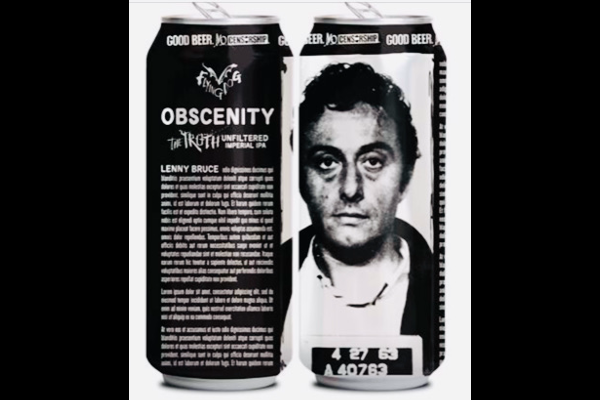 Obscenity/Lenny Bruce Flying Dog Beer