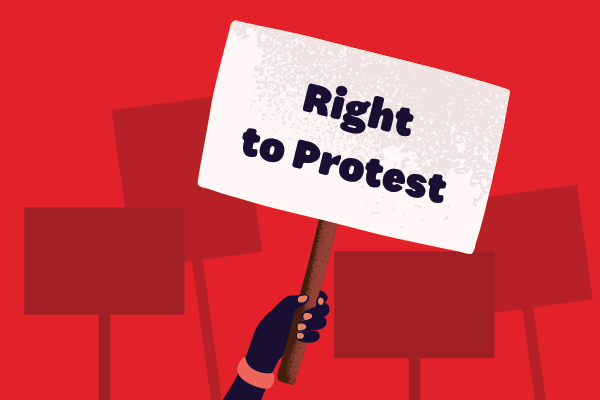 Right to Protest Lesson