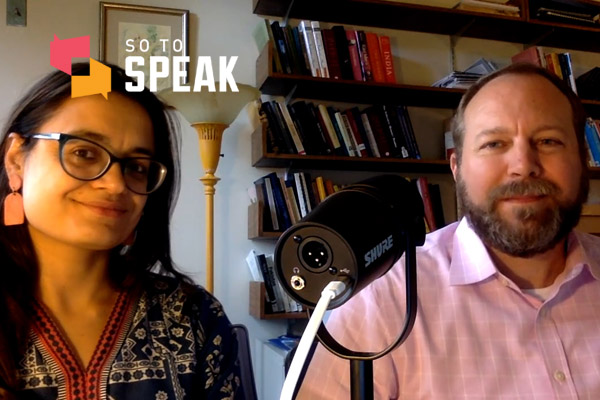 So to Speak podcast: Trigger warnings and DEI statements